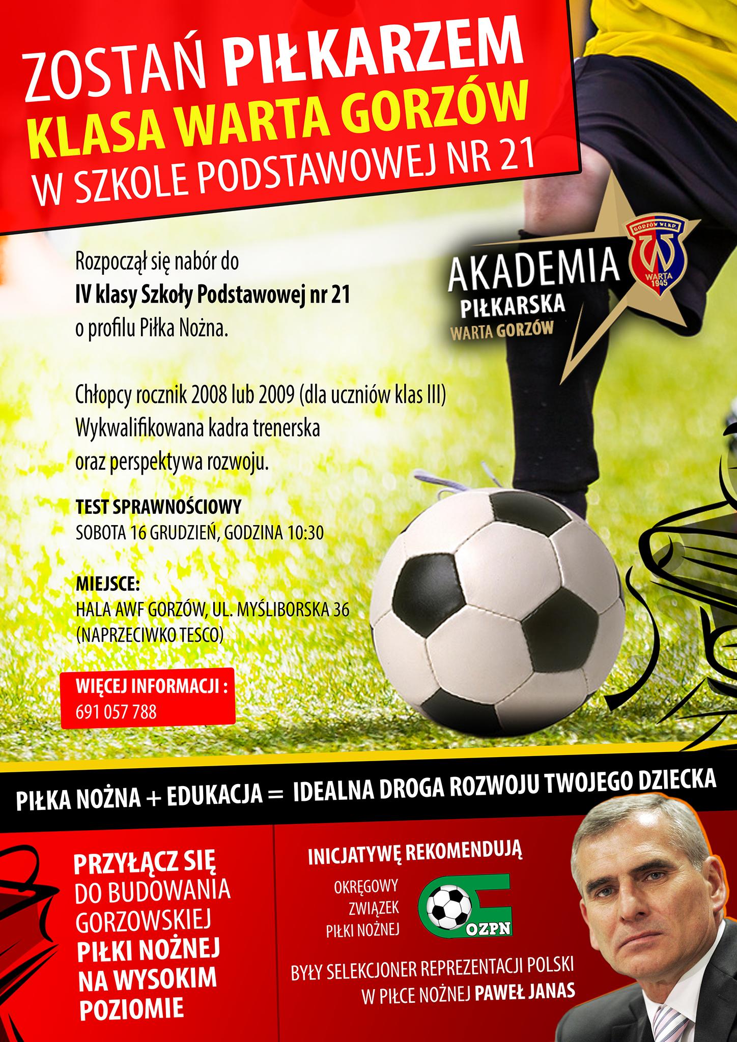 SP21 - Warta Gorzów